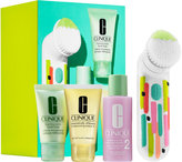 Clinique Clean Skin, Great Skin Sonic Brush Set For Drier Skin