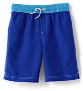 Classic Toddler Boys Swim Trunks-Vivid Cobalt