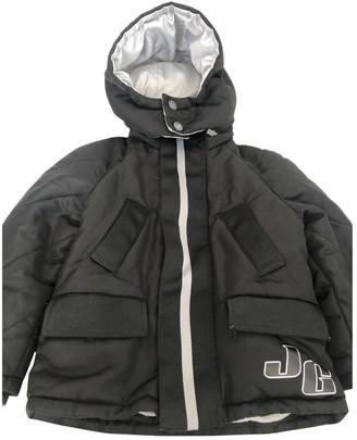 John Galliano Black Synthetic Jackets & Coats