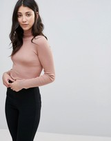 Brave Soul High Roll Neck Sweater