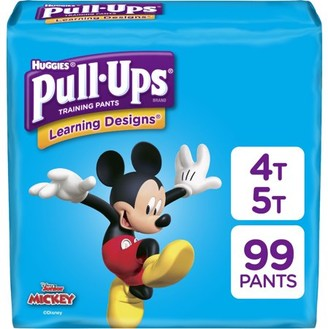 Pull Ups Pull-Ups Boys' Learning Designs Training Pants, 4T-5T, 74 Ct