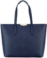 Twin-Set logo plaque tote - women - Leather - One Size