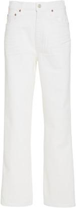 AGOLDE Pinch Waist Stretch High-Rise Kick Jeans