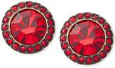 Michael Kors Colored Crystal Stud Earrings