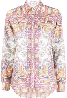 Etro Paisley-Print Shirt