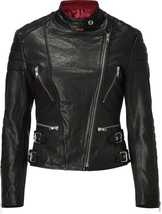 Rika Black Nova Leather Jacket