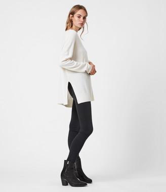 AllSaints Tara Pointelle Sweater