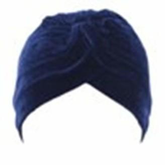 Huyuri Women Velvet Muslim Ruffle Cancer Chemo Hat Beanie Scarf Turban Head Wrap Cap