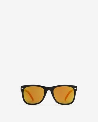 Express Black Frame Sunglasses