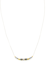 Chan Luu Crystal & Pearl Pendant Necklace