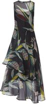 LK Bennett Kalia Geo Flowers Dress