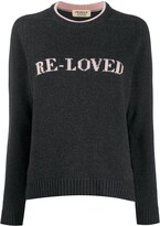 Pringle Re-Loved recycled jumper