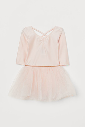 H&M Tulle-skirt Dance Dress - Pink