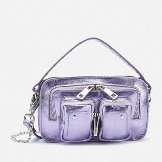 Nunoo Women's Helena Metallic Cross Body Bag Exclusive - Purple