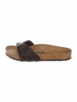 Birkenstock Leather Slides Black