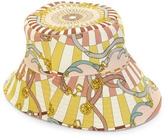 Rani Arabella Belt-Print Bucket Hat