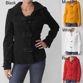 ADI Ci Sono by Junior's Toggle Button Hooded Coat