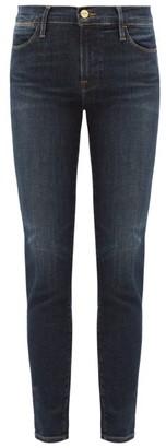 Frame Le High High-rise Skinny-leg Jeans - Dark Denim