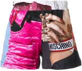 Moschino Barbie print shorts