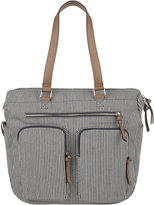 Accessorize Stripe Weekender Bag