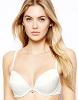 Ultimo The One Polka Dot Everyday Fashion Bra - Blue
