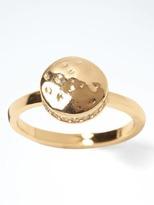 Banana Republic Hammered Gold Ring