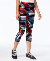 Tommy Hilfiger Striped Cropped Active Leggings