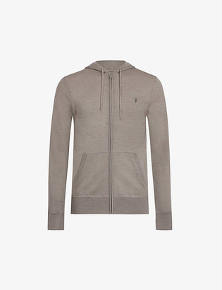 AllSaints Mode merino wool hoody
