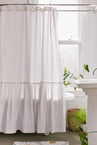 Urban Outfitters Overscale Ruffle Shower Curtain