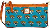 Dooney & Bourke NFL Jaguars Large Slim Wristlet