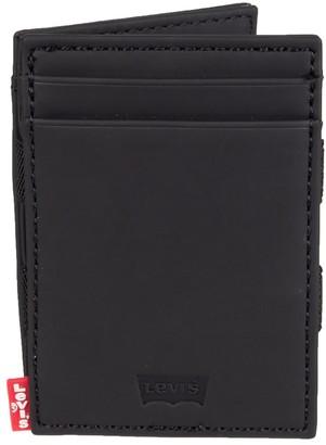 Levi's Levis Men's RFID-Blocking Slim Front-Pocket Wallet