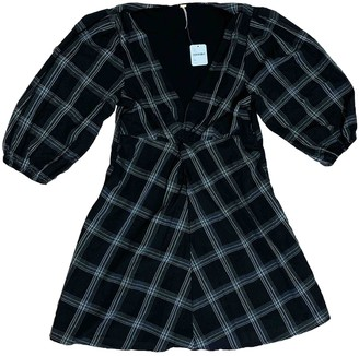 Free People Black Polyester Dresses