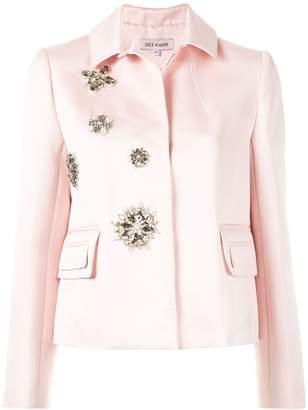 Dice Kayek crystal embellished jacket