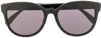 Gucci Double G cat-eye frame sunglasses