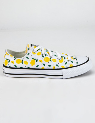 Converse Summer Fruits Chuck Taylor All Star Girls Low Top Shoes