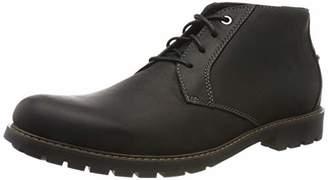 Clarks Men's Ankle Boots Black Size: