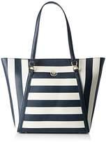 Tommy Hilfiger Women's Fashion Novelty Stripe Bag,13 x 31 x 33 cm (b x h x t)