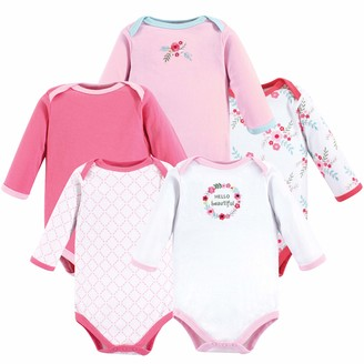 Luvable Friends Baby Long Sleeve Bodysuits