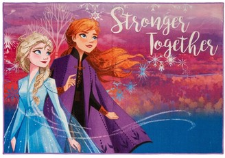 Disney Frozen Stronger Togehter Area Rug