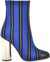 Marco De Vincenzo Striped Pattern Boot