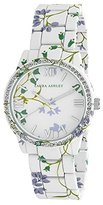 Laura Ashley Women's LA31018B Analog Display Japanese Quartz White Watch