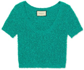 Gucci Cotton boucle top