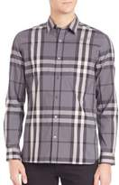 Burberry Nelson Check Sportshirt
