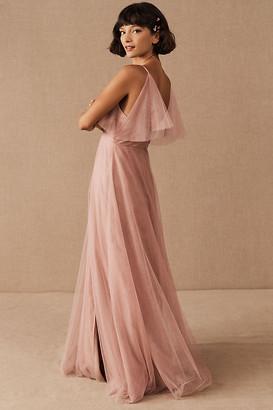 Jenny Yoo Aeryn Dress By in Pink Size 0