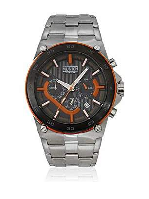 Munich Unisex Adult Analogue Quartz Watch with Stainless Steel Strap MU+138.1B