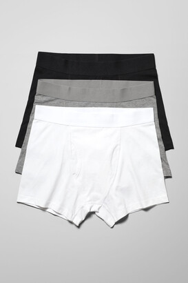 Weekday Johnny Boxers 3-Pack - White