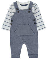 George Dungarees and Striped Top Set