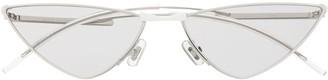 Gentle Monster Krow 02(G) cat-eye frame sunglasses