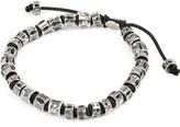 M. Cohen Jointed oxidised Fish Bone Bracelet