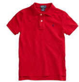 Ralph Lauren Boys 2-7 Short-Sleeved Mesh Polo
